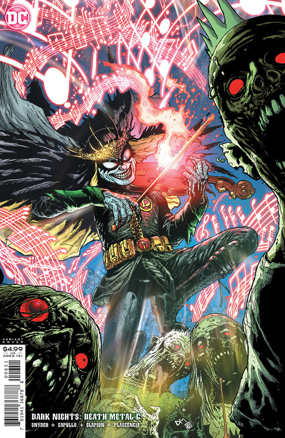 DARK NIGHTS DEATH METAL #6 (OF 7) INC 1:25 DOUG MAHNKE VAR
