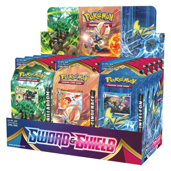 Pokemon TCG: Sword & Shield Theme Deck