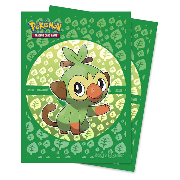 Pokemon: Sword & Shield Galar Starters Grookey Deck Protector Pack (65)