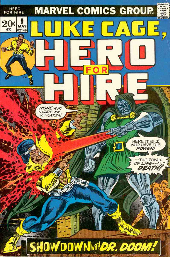 Power Man and Iron Fist 1972 Hero for Hire #9 GOOD+