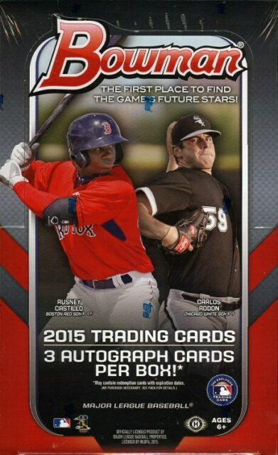 BOWMAN 2015 BASEBALL T/C BOX (NET) (C: 1-1-1)