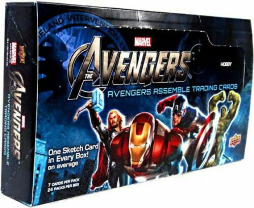 MARVEL AVENGERS ASSEMBLE MOVIE T/C BOX (NET) (C: 1-1-2)