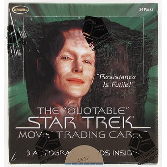 QUOTABLE STAR TREK MOVIE T/C BOX (NET) (C: 1-1-2)