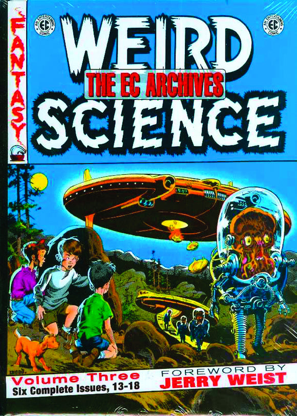EC ARCHIVES WEIRD SCIENCE HC VOL 03