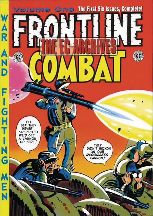 EC ARCHIVES FRONTLINE COMBAT HC VOL 01 (C: 0-1-2)