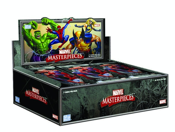 MARVEL MASTERPIECES SET 3 T/C BOX (NET) (C: 1-1-3)