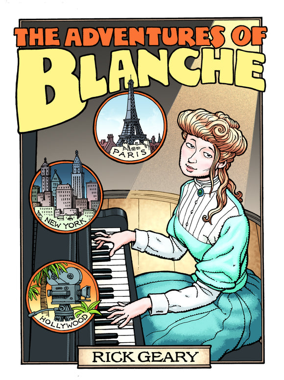 ADVENTURES OF BLANCHE HC (C: 0-1-2)