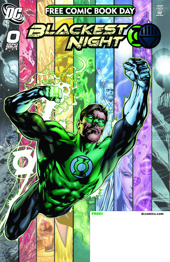 FCBD 2009 GREEN LANTERN BLACKEST NIGHT #0 (NET)