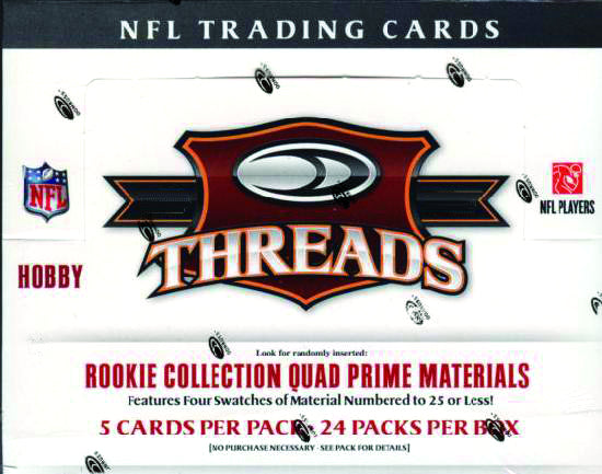 DONRUSS 2009 THREADS NFL T/C BOX (NET) (C: 1-1-2)