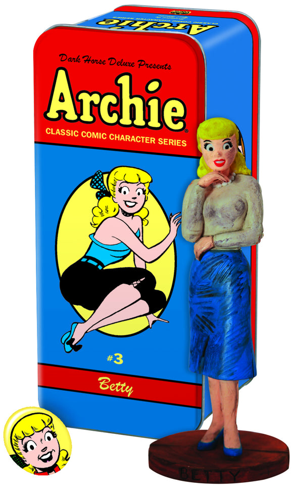CLASSIC ARCHIE CHARACTER STATUE #3 BETTY (C: 0-1-2)