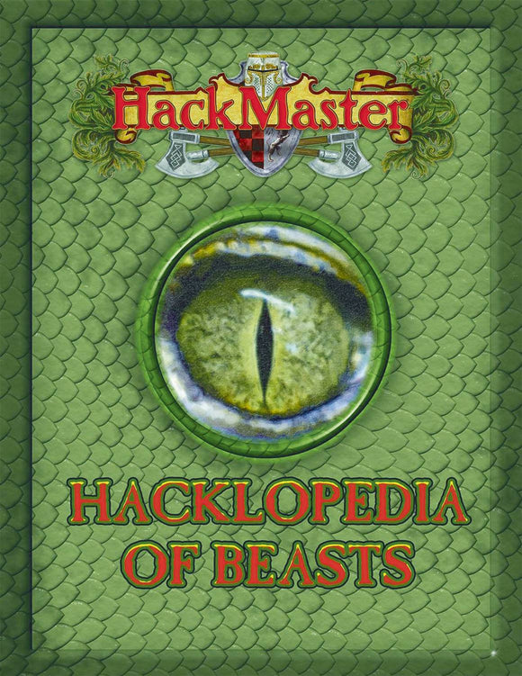 HACKMASTER RPG HACKLOPEDIA OF BEASTS HC (O/A) (C: 0-1-2)