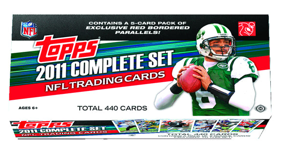 TOPPS 2011 FOOTBALL T/C SET (NET) (C: 1-1-2)