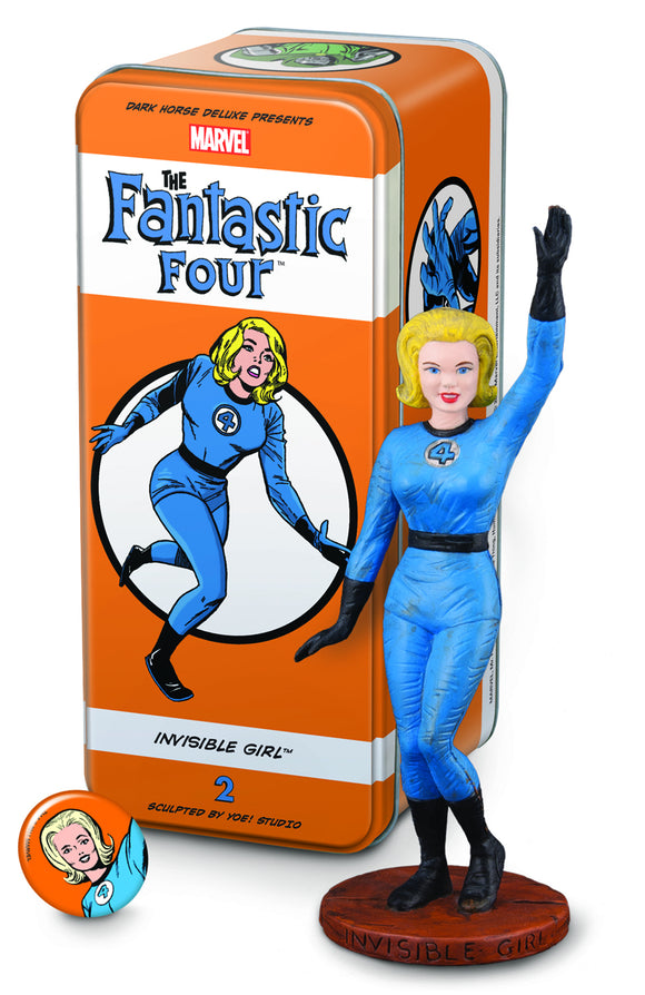 CLASSIC MARVEL CHARACTERS FF #2 INVISIBLE GIRL (C: 1-1-2)