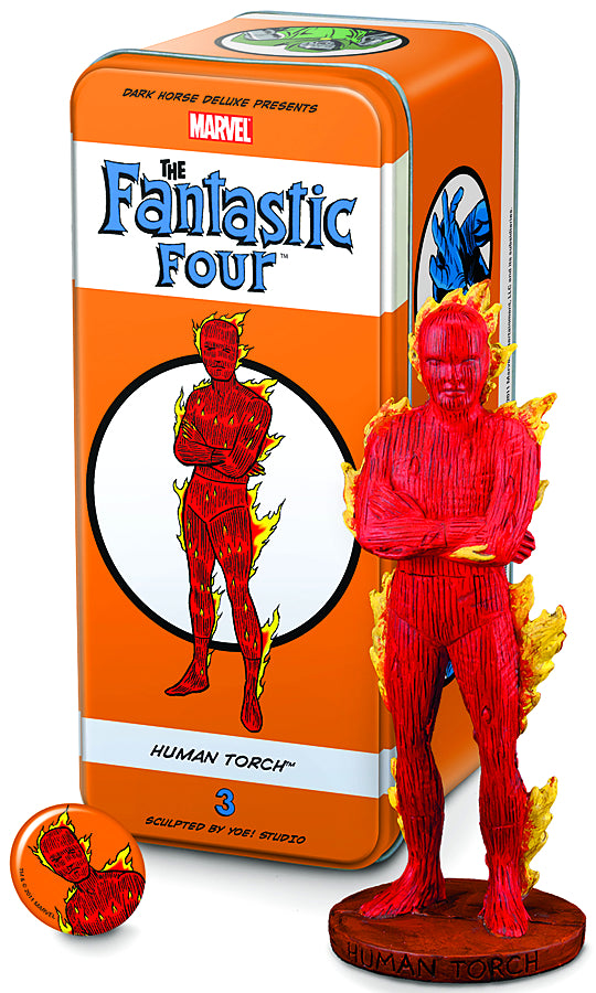 CLASSIC MARVEL CHARACTERS FF #3 HUMAN TORCH (C: 1-1-2)