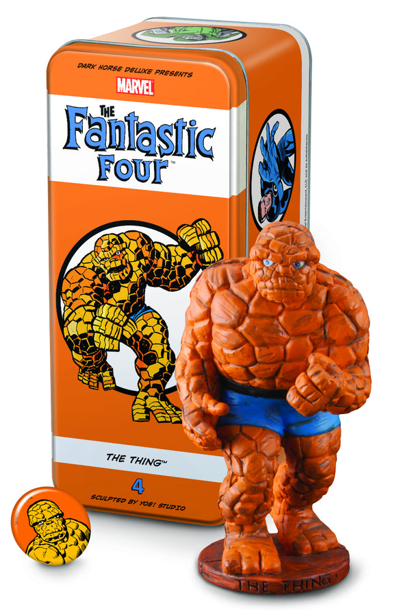 CLASSIC MARVEL CHARACTERS FF #4 THE THING (C: 1-0-0)