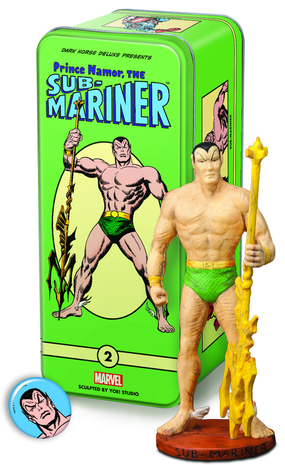 CLASSIC MARVEL CHARACTERS SERIES 2 #2 SUB MARINER (C: 0-1-2)