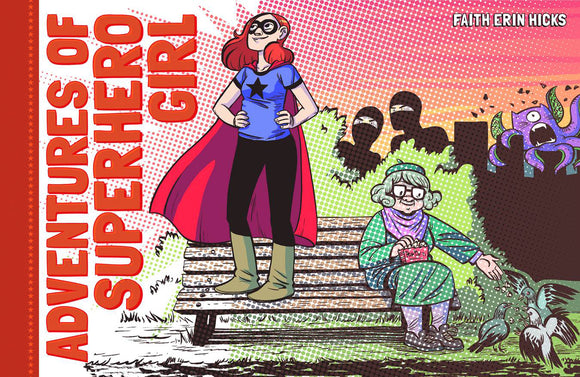 ADVENTURES OF SUPERHERO GIRL HC (C: 0-1-2)