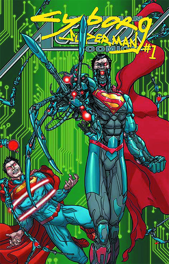 ACTION COMICS #23.1 CYBORG SUPERMAN STANDARD ED
