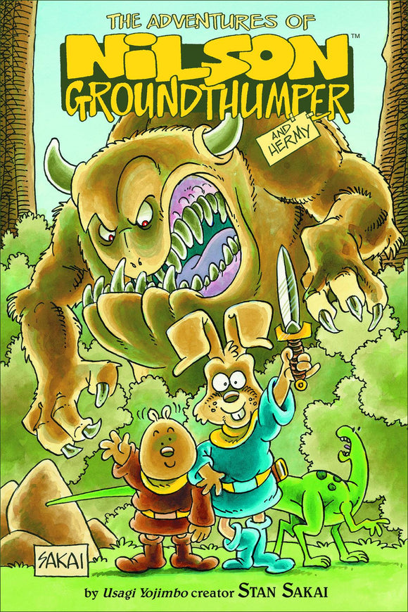 ADVENTURES OF NILSON GROUNDTHUMPER & HERMY HC (C: 0-1-2)