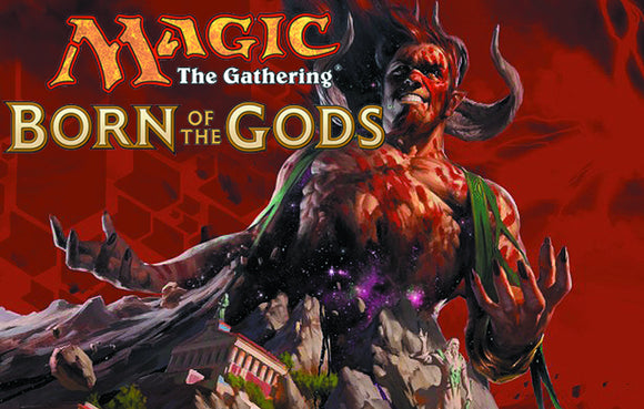 MTG TCG BORN OF THE GODS BOOSTER DIS (C: 1-1-2)