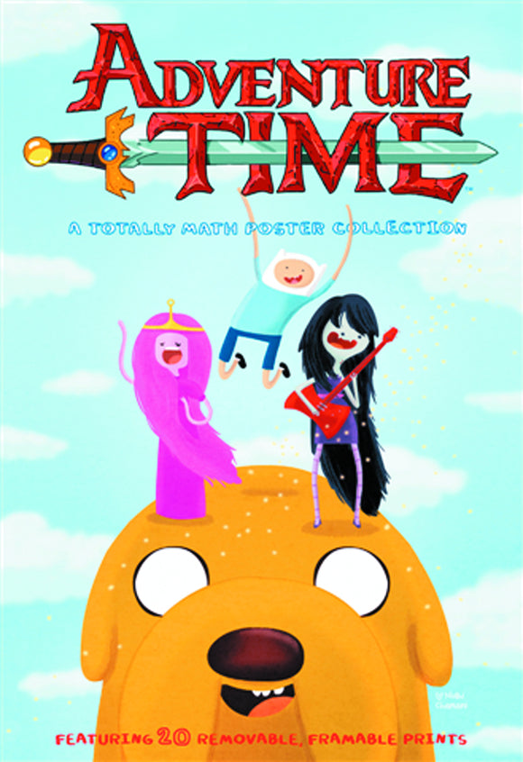 ADVENTURE TIME TOTALLY MATH POSTER COLLECTION SC (C: 0-1-0)