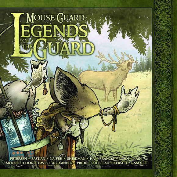 MOUSE GUARD LEGENDS OF GUARD HC VOL 01 (C: 0-0-1)