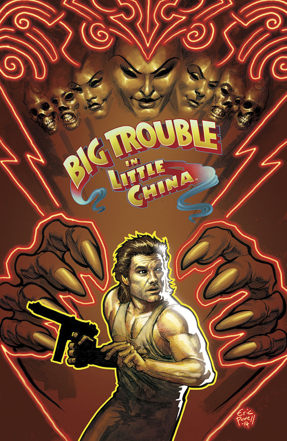 BIG TROUBLE IN LITTLE CHINA #3 MAIN CVRS