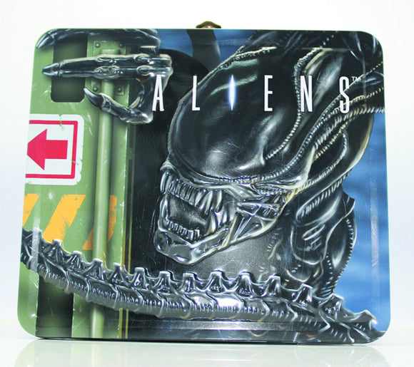 ALIENS LUNCH BOX W/THERMOS (C: 0-1-2)
