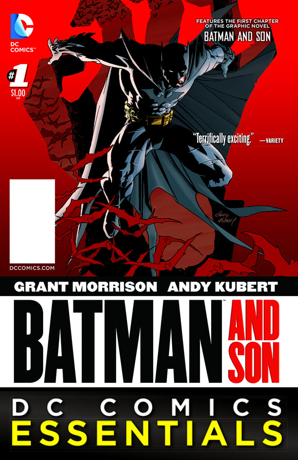 BATMAN ESSENTIALS BATMAN & SON SPEC ED #1