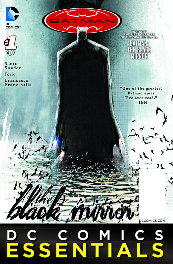BATMAN ESSENTIALS THE BLACK MIRROR SPEC ED #1
