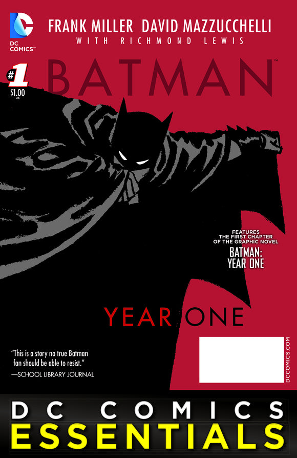 BATMAN ESSENTIALS BATMAN YEAR ONE SPEC ED #1