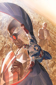 ALL NEW CAPTAIN AMERICA #1 BY ROSS POSTER