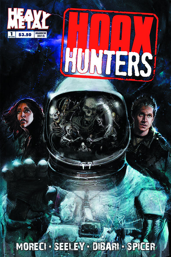 HOAX HUNTERS 2015 #1 (OF 5) MAIN CVR (MR)