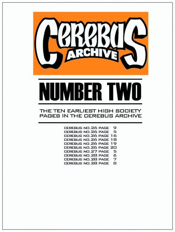 CEREBUS ARCHIVE VOL 02 (C: 0-1-0)