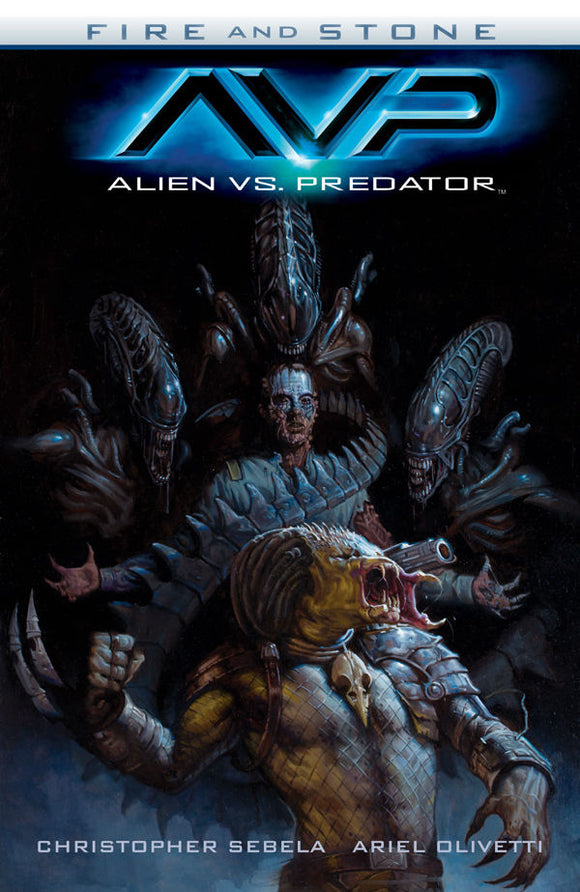 ALIEN VS PREDATOR FIRE & STONE TP (C: 0-1-2)