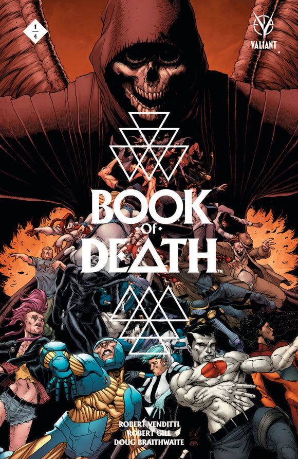(USE JUN158249) BOOK OF DEATH #1 (OF 4) CVR A GILL