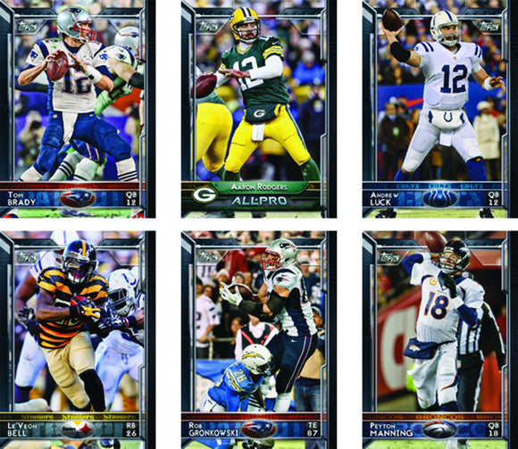 TOPPS 2015 FOOTBALL T/C COMPLETE SET (NET) (C: 1-1-1) (PP #1