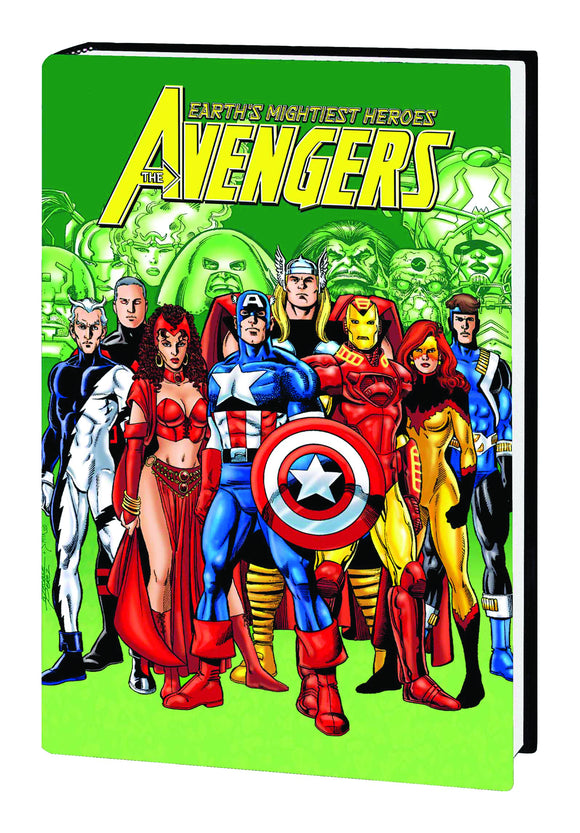 AVENGERS BY BUSIEK AND PEREZ OMNIBUS HC VOL 02
