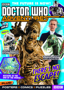DOCTOR WHO ADVENTURES MAGAZINE #3 (C: 1-1-1) (PP #1176)