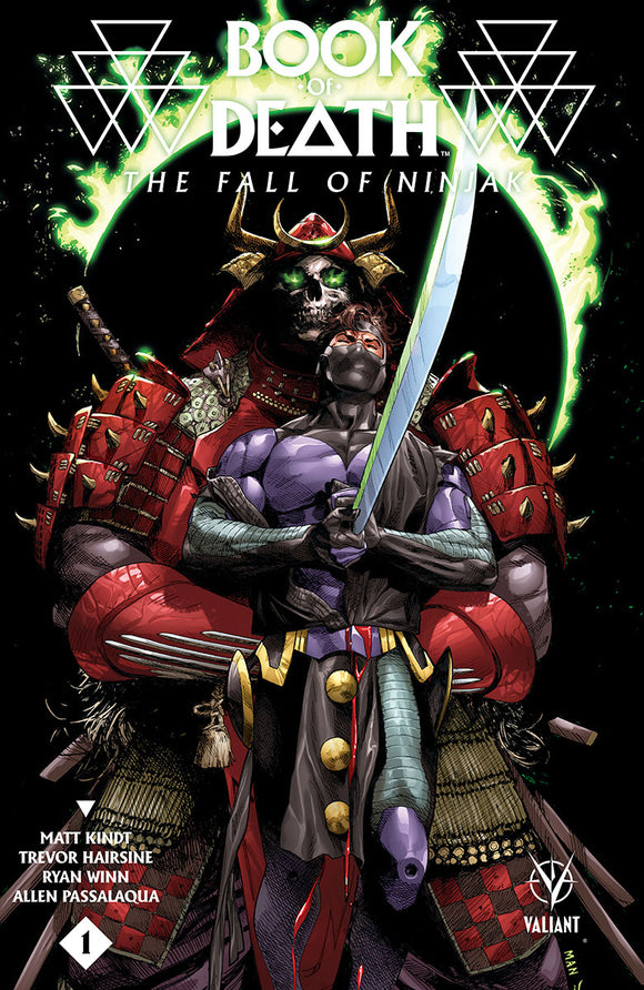 BOOK OF DEATH FALL OF NINJAK #1 CVR B MANN (ONE SHOT)
