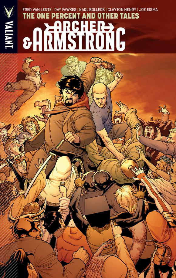 ARCHER & ARMSTRONG TP VOL 07 ONE PERCENT & OTHER TALES
