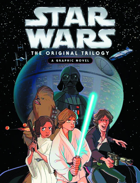 STAR WARS ORIGINAL TRILOGY GN HC (C: 0-1-0)