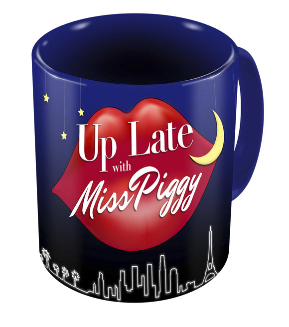 MUPPETS UP LATE WITH MISS PIGGY MUG (C: 1-1-2)