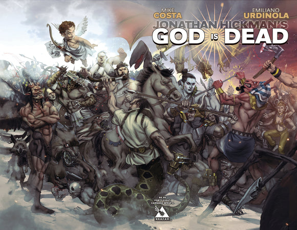 GOD IS DEAD #48 CONNECTING WRAP CVR A (MR)