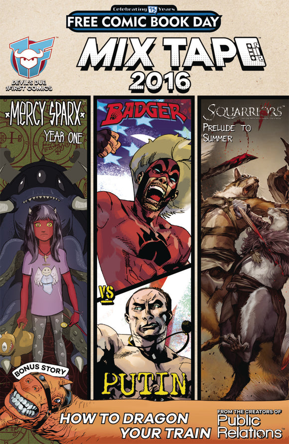 FCBD 2016 MIXTAPE DEVILS DUE 1FIRST COMICS ED (NET)