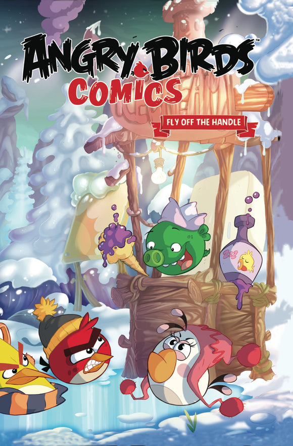 ANGRY BIRDS COMICS HC VOL 04 FLY OFF HANDLE (C: 1-0-0)
