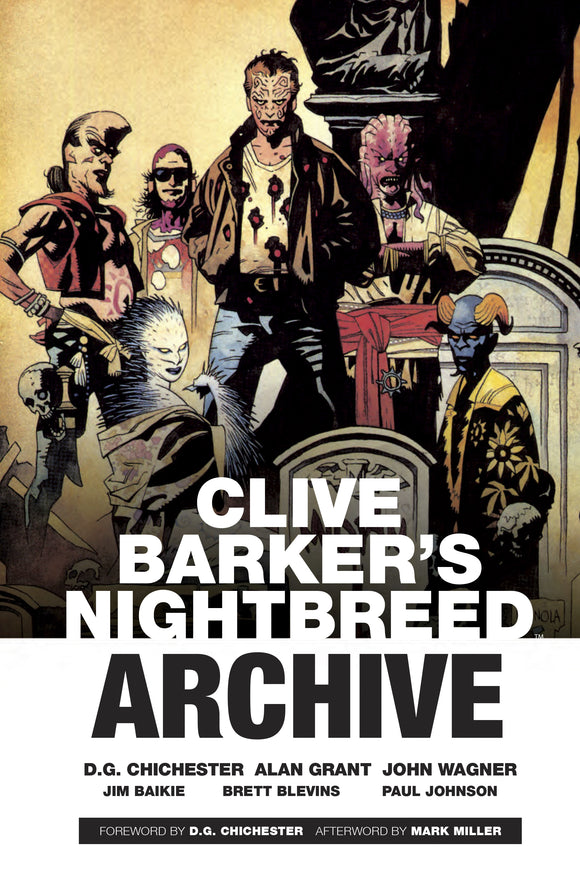 CLIVE BARKER NIGHTBREED ARCHIVE HC (C: 0-1-2)