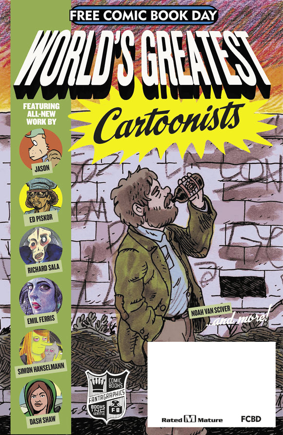 FCBD 2017 FANTAGRAPHICS WORLDS GREATEST (NET) (MR)