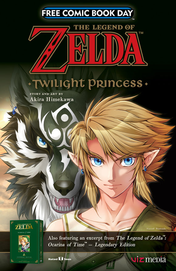 FCBD 2017 VIZ LEGEND ZELDA TWILIGHT PRINCESS OCARINA TIME (N
