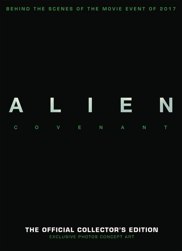 ALIEN COVENANT MAGAZINE NEWSSTAND COLLECTORS ED